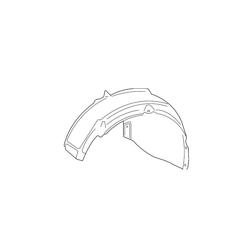 Left Fender Liner