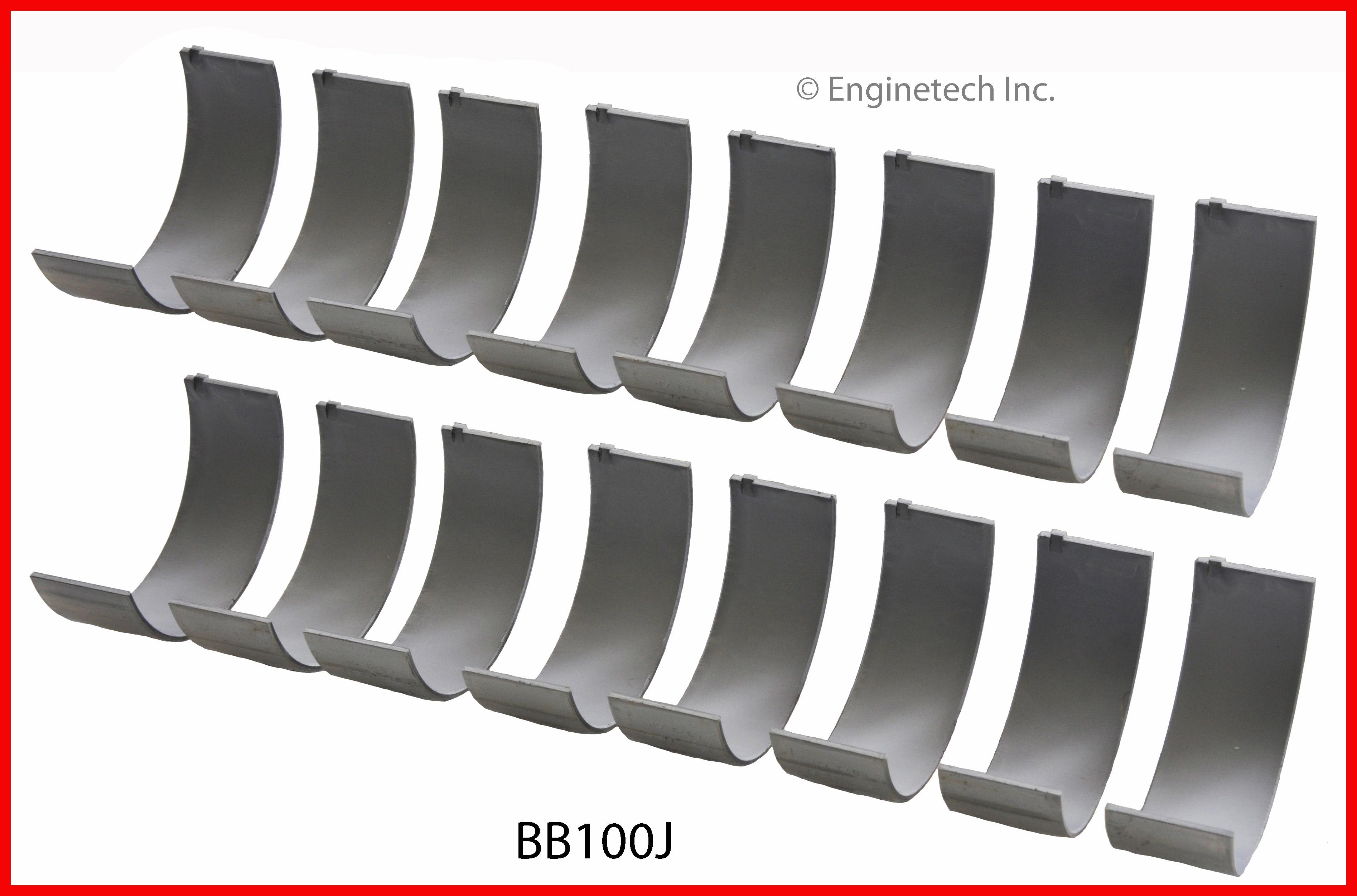 Engine Connecting Rod Bearing Set DNJ RB332