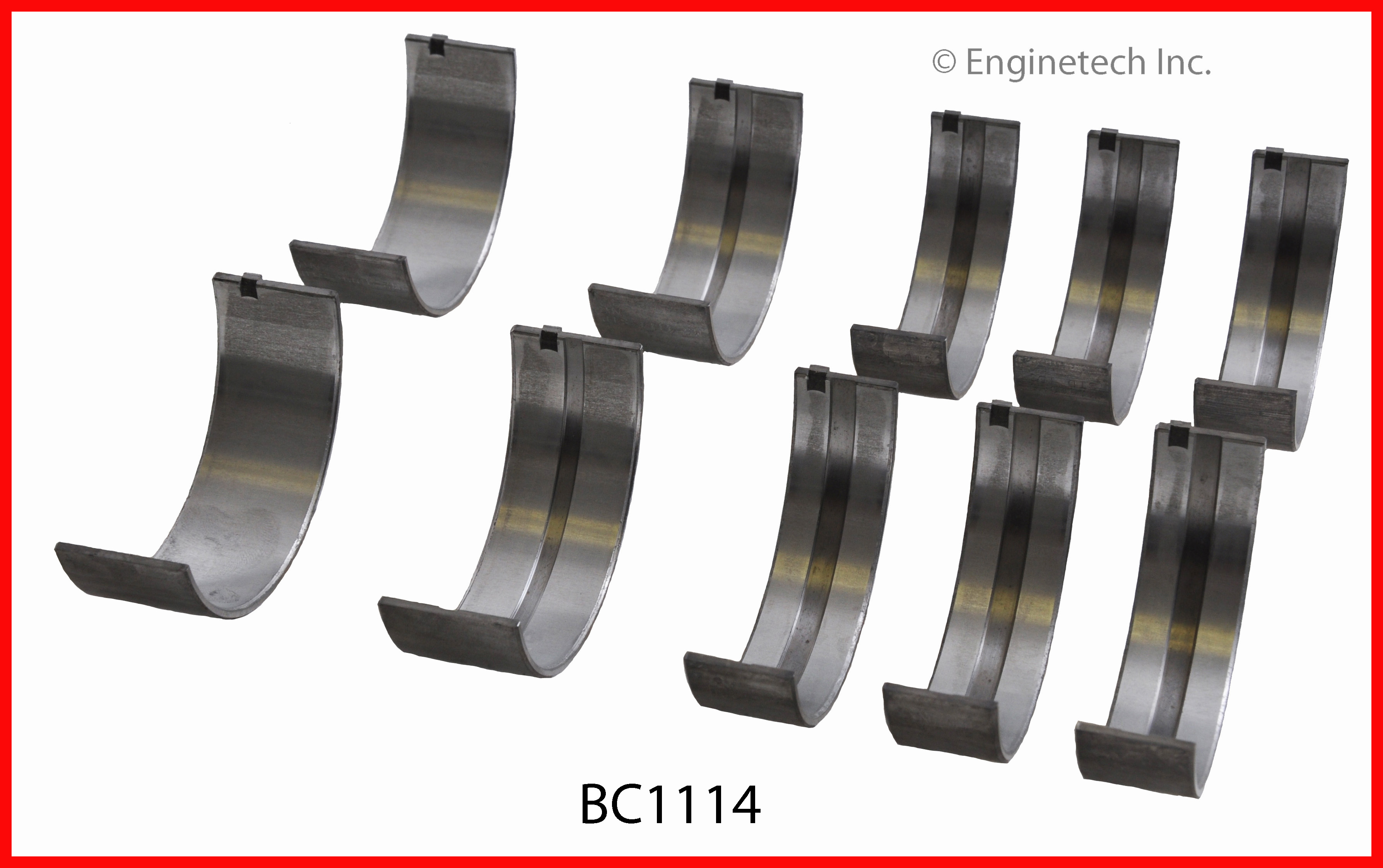 Engine Crankshaft Main Bearing Set