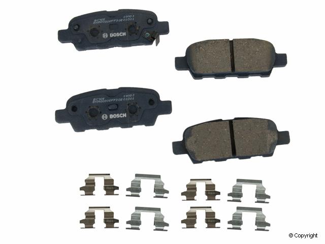 Rear Brake Pads Set
