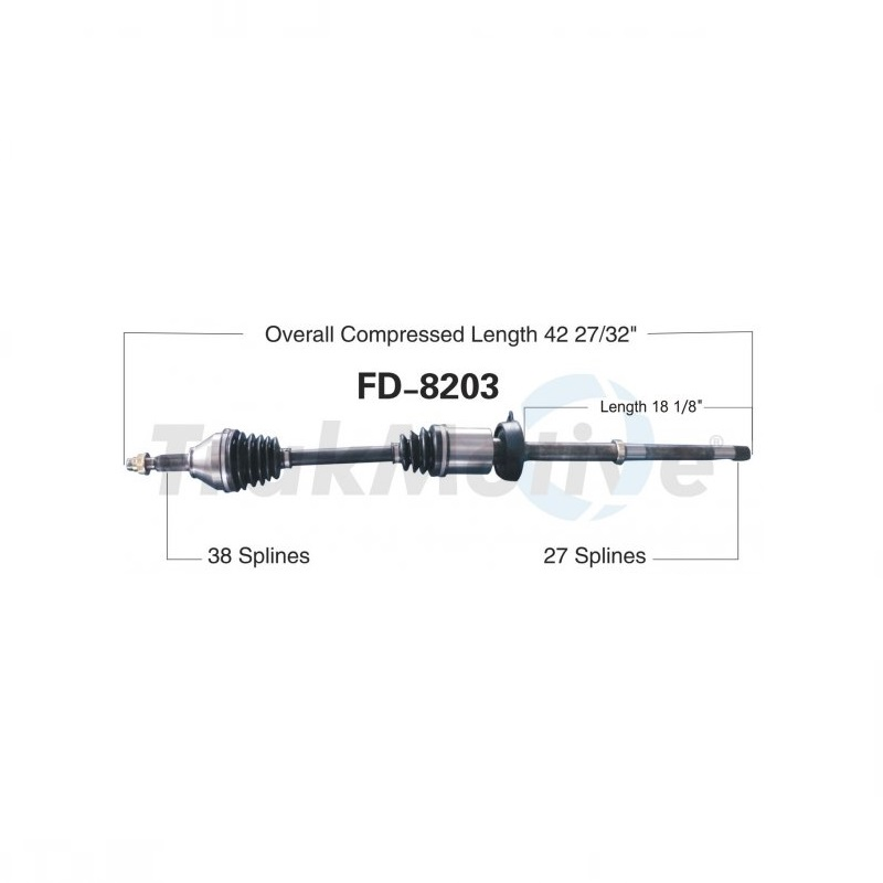 Front Right CV Axle Shaft