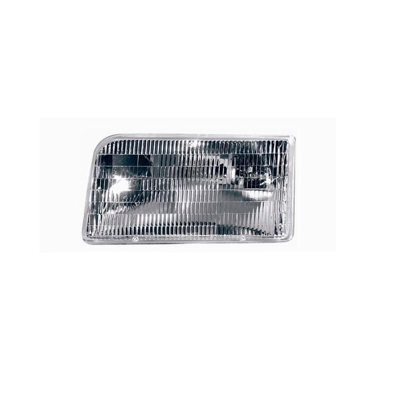 Left Headlamp Assembly