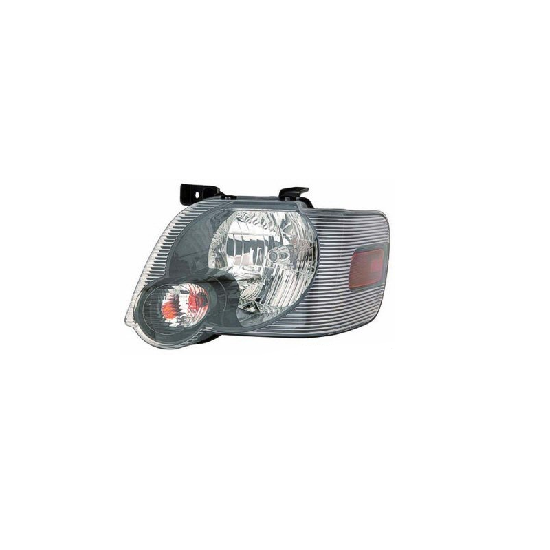 Left Headlamp Assembly