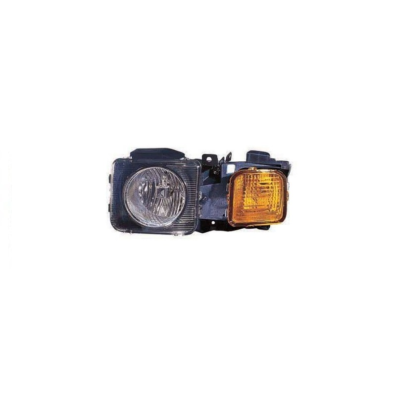 Left Head Lamp Assembly